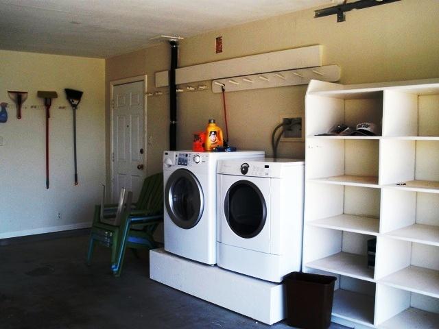 Washer/Dryer in Garage