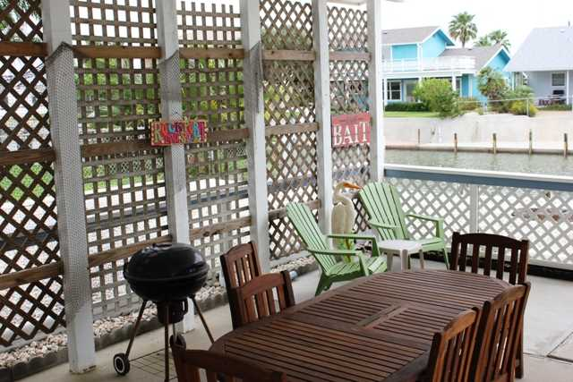 Covered Deck to Dine and Enjoy