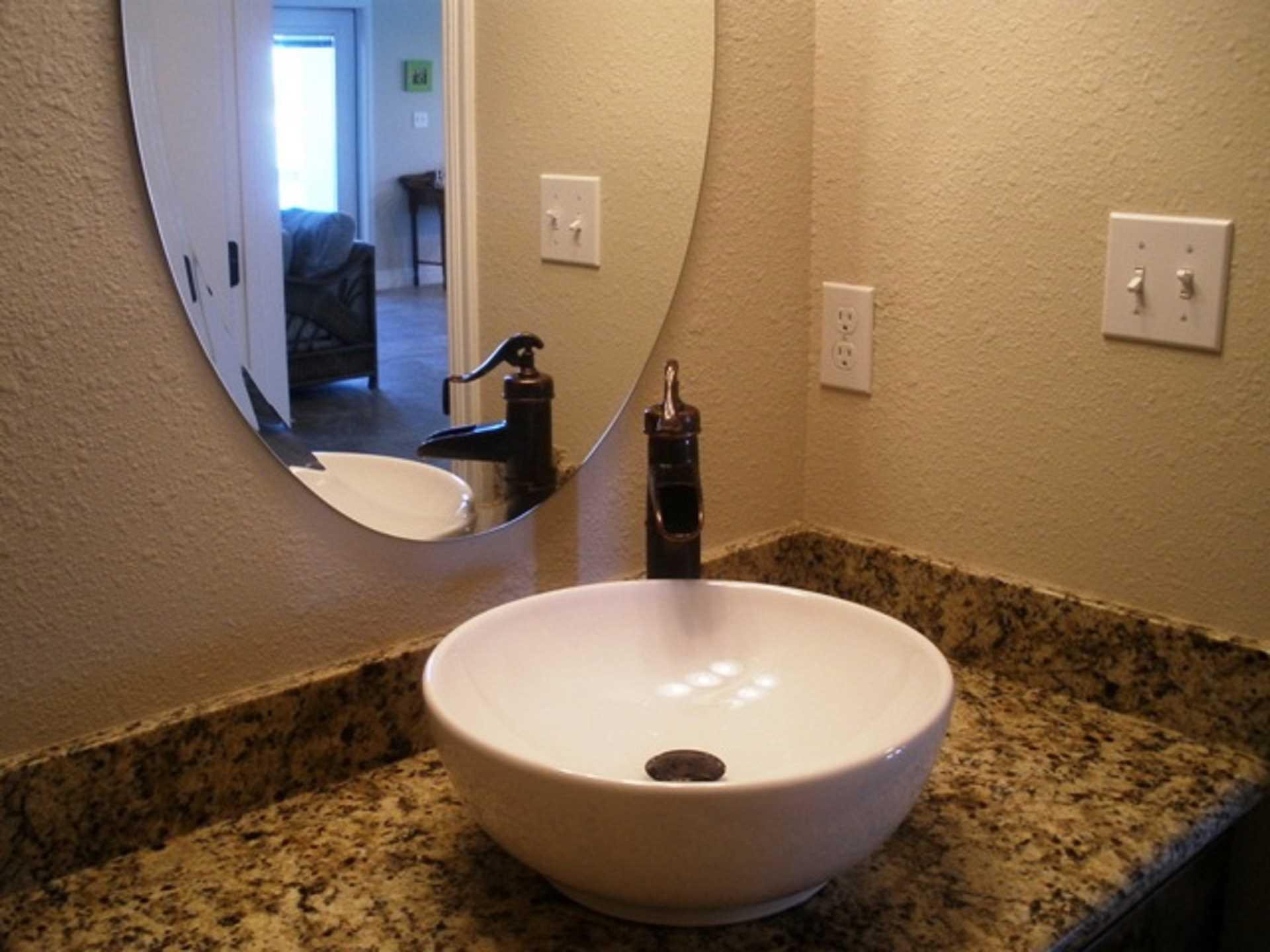 Half Bath on Main Floor
